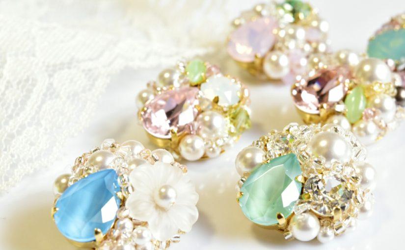 川西阪急イベント☆贈り物には春色アクセサリー